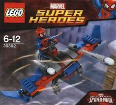 Lego 30302 #spider glider with #spiderman #minifigure. marvel #super heroes. retir,  View more on the LINK: http://www.zeppy.io/product/gb/2/252724521069/