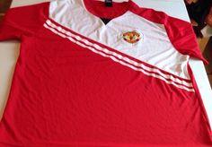 Manchester United Futbol Soccer Large Officially Licensed Jersey #ManchesterUnited #ManchesterUnited
