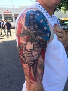 Marine Corps tattoo
