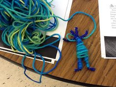 The Other Side of the Spanish Classroom: making Guatemalan worry dolls out of yarn and pipe cleaners