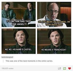 """Interesting.... Johns last words...""""im proud of you."""" Deans last words..""""im proud of us."""" #Supernatural #SPN"""