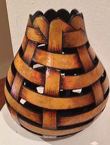 Gourd art, gourd sculpture, gourds, hawaiian gourd