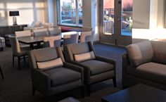 The Vine Apartments in Seattle. Custom furniture from Jeffrey Braun Furniture.