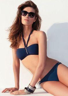 Gideon Oberson Marine Bikini - With Free Delivery