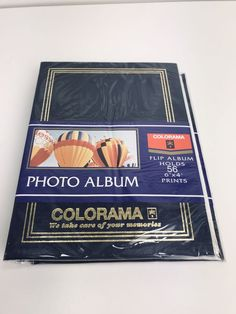 6x4 photo album Blue Colorama Flip Album holds 56 prints photographic Pictures #Colorama Photo Album Storage, Photo Accessories, Camera Photography, Flipping, Hold On, Prints, Shop, Pictures, Blue