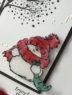 Life in the Craft Lane : What's Christmas without a bit of Glitter and Sparkle
