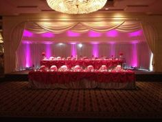 Uplighting by Keith Christopher Entertainment