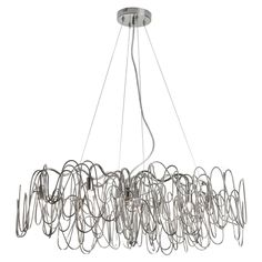 This 8 light Chandelier from the Axis collection by Dainolite will enhance your home with a perfect mix of form and function. The features include a Burnished Chrome finish applied by experts. Dainolite, Contemporary Dining Room Lighting, Pendant Lighting, Modern Accessories, Lighting, Delightful Lighting, Chandelier, Chandelier Lighting, Ceiling Lights