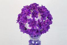 DIY Purple Passion Wedding Centerpiece in 3 Easy Steps table purple DIY Purple Passion Wedding Centerpiece in 3 Easy Steps Unique Wedding Centerpieces, Wedding Flower Arrangements, Diy Wedding Decorations, Flower Centerpieces, Unique Weddings, Centerpiece Ideas, Yellow Centerpieces, Floral Arrangements, Floral Wedding