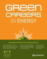 Green careers in energy / [editor, Jill C. Schwartz]