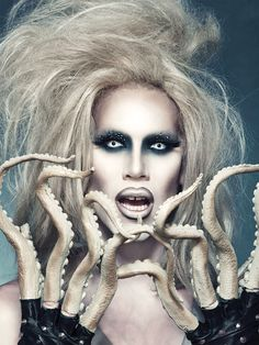 Sharon Needles  drag queen demon