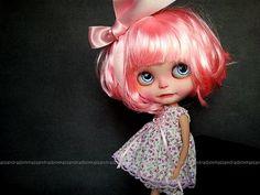 Blythe pink hair