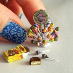 地元のお祭り行ってきます✋ #ミニチュア #miniature#キャンディー#candy#お菓子#ハンドメイド#handmade#フェイクフード#fakefood#dollhouse#ドールハウス