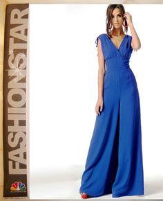 McCalls Sew Pattern 6760 Fashion Star Palazzo Gaucho Pant Jumpsuit Dress 8-16