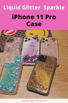 A liquid quicksand design that keeps your iPhone 11 Pro looking as good as new. Iphone 11 Pro Case, New Iphone, Iphone Cases, Usb Flash Drive, Collections, Glitter, Cover, Style, Swag