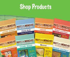 Matt's Munchies Premium Fruit Snacks are pure and natural fruit leathers available in 8 palate-pleasing flavors, all 100 calories or less per one ounce serving. Convenient, tasty and nutritious, perfect for snacking on the go!