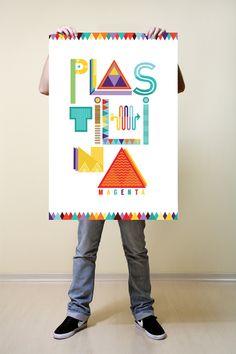 #Poster Plastilina