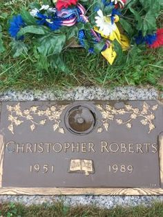 Jonathan Christopher Roberts.  Pernell Roberts only son..1951-1989. Died in a motorcycle accident.