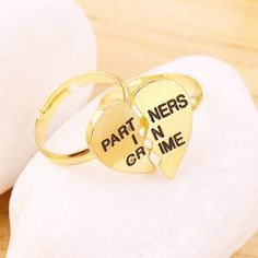 Partners in Crime 2pc Ring Set*Delivery US 3-5 days