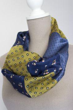 infinity neckties scarf