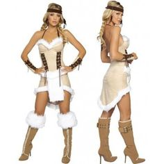 $19.90 Adult Womens Pirate Costume Indigenous Bandits Sexy Cosplay Uniform