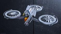 Drone, Marko Stravamir on ArtStation at https://www.artstation.com/artwork/drone-0a398cdc-f5aa-4f24-b591-ba6dfc8ece75