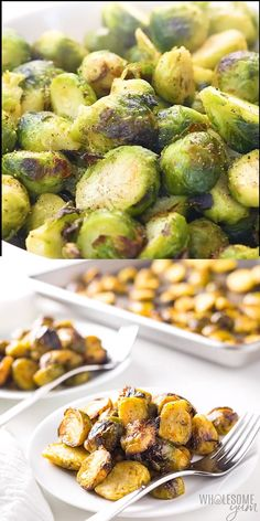 Oven Roasted Frozen Brussels Sprouts Recipe