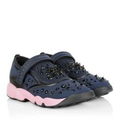 Christian Dior Sneakers – Fusion Strap Sneaker Blue – in…