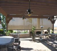 Solar screens on patio cover, very cool Decor, Lighting, Home, Ceiling Lights, Solar, Ceiling, Solar Screens, Screen, Track Lighting