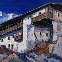 Ernst Müller Museum, Painting, Visual Arts, Landscape Pictures, Canvas, Lake Garda, Childhood, Paintings, Draw