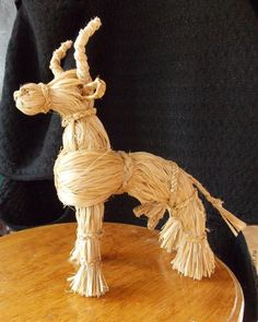 """Workshop on weaving folk toys """"Cow"""", photo number 16 Corn Husk Dolls, Reno, Doll Crafts, Crochet Toys, Projects To Try, Sculptures, Weaving, Statue, Folk"""