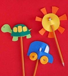foam pencil toppers - Google Search