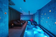I'm not too keen on the seating as I would prefer to have that room to swim but the colours are wonderful.
