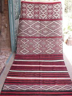 Vintage Moroccan Kilim from Maryam at My Marrakesh