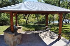 covered outdoor kitchen | Custom-Outdoor-covered outdoor kitchen | Flickr - Photo Sharing!