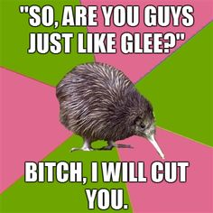 Choir Kiwi. lmao you would so say this to someone!