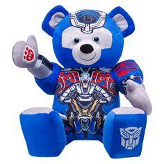 Transformers™ Optimus Prime™ Bear, Build A Bear Custom Teddy Bear, Toys Land, Transformers Collection, Bear Costume, Transformers Optimus Prime, Online Gift Shop, Best Kids Toys, Build A Bear, Smurfs