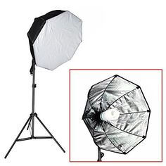 """Neewer® 350W Professional Photography 31""""x31""""/80x80cm Octagon Softbox with CFL Bulb and Light Stand Lighting Kit for Photo Studio Portraits,Product Photography and Video Shooting, http://www.amazon.com/dp/B017IJ72CE/ref=cm_sw_r_pi_n_awdm_sFrHxbG1NCXWR"""