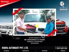 Are you looking for Mahindra car showroom and dealer in Asansol, Durgapur, Bankura and Purulia? Then Rudra Automart is the best & authorized dealer in this cities. Mahindra Cars, Car Delivery, Price Book, Driving Test, Showroom, Gallery, Roof Rack, Fashion Showroom