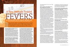 A New Attitude Toward Fevers: An Interview With Philip Incao, MD | Holistic Healthcare - See more at: http://pathwaystofamilywellness.org/Holistic-Healthcare/a-new-attitude-toward-fevers-an-interview-with-philip-incao-md.html#sthash.UuujHIv9.dpuf - Pathways Magazine