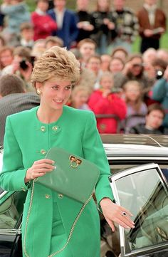 Diana - love this shade of green! (1992)