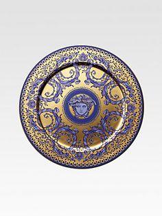 Versace Rosenthal Service Plate/Gold