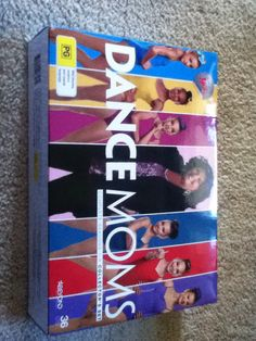 LOOK WHAT I GOT FOR XMAS!!!!!THE WHOLE DANCE MOMS SEASON EXCEPT FOR SEASON 6