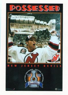 20dd9c55c 90 S COSTACOS POSTER NEW JERSEY DEVILS  nhl  njdevils New Jersey Devils