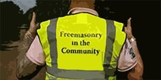 Freemasonry in the Community - Hampshire & IOW helping out there local community with Portsmouth Hospitals Charity providing Mason Marshals at the Ward Walk