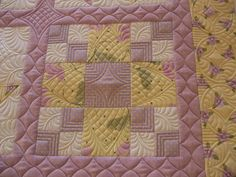 Small sampler quilt done for a class in 2011