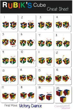 The best DIY projects & DIY ideas and tutorials: sewing, paper craft, DIY. Ideas About DIY Life Hacks & Crafts 2017 / 2018 Solve Rubiks Cube Cheat Sheet Prinatble -Read Simple Life Hacks, Useful Life Hacks, Solving A Rubix Cube, Things To Do When Bored, Cheat Sheets, Cheating, Helpful Hints, Life Is Good, Fun Facts
