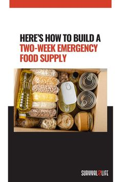 Emergency Food Supply, Survival Life, Disaster Kits