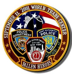 9/11 Police Firefighter & EMS - Fallen Heroes Commemorative Plaque. Starts at $97.95