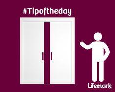 Cavity slider doors are a good option for space saving in the home. Slider Door, Cavities, Space Saving, Sliders, Lockers, Locker Storage, Doors, Cabinet, Tips